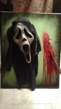 SCREAM horror art  sculpture 3D PAINTING