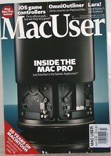 MacUser Magazine INSIDE The MAC PRO OmniOutliner iOS Game CONTROLLERS $16 pnt UK