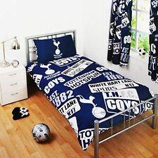 Tottenham Hotspur FC Duvet Pillow Case Quilt Cover Single Boys Spurs Bedding Set
