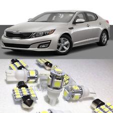 12×Xenon White LED Interior Light Package Kit for Kia Optima 2011-2015