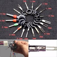 26x Car Terminal Removal Tool Wire Plug Connector Extractor Puller Release Pin~~