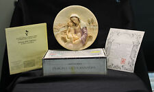 Bradford Exchange Collector Plate Ii Dono Della Vigilanza Gifts Of Maternal Love