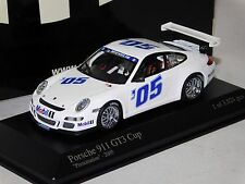 PORSCHE 911 GT3 CUP PRESENTATION 2005 MINICHAMPS 400156400 1:43