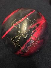 Hammer Black Widow Nasty Bowling Ball 15lbs USED