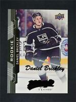 2018-19 18-19 UD Upper Deck MVP Rookie Black Super Script Daniel Brickley /25