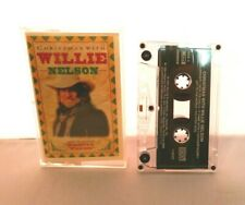 """Christmas with WILLIE NELSON Cassette Tape 1994 """"Pretty Paper"""""""