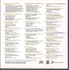 rare BALADA ROCK 60 70 CD sleeve Megamix TEEN TOPS Hooligans MATEMATICOS Sinners