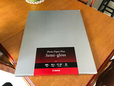 "Canon SG-201 Semi-Gloss Photo Paper 17"" X 22"" 25 Sheets"