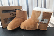 UGG Genuine Kids Baby Girls Chestnut Erin Boots UK L 18-24 Mnth RRP £50 New Boxd