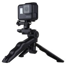 Puluz Grip Folding Tripod Mount with Adapter & Screws for GroPro,Camera & Phone