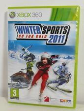 Winter Sports 2011: Go for Gold XBOX 360 Spiel NEAR MINT Zustand Komplett PAL