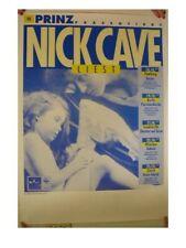 Nick Cave Poster Concert German Tour