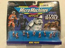 Vintage Galoob Micro Machines Star Wars Rebel Pilots! FREE shipping!