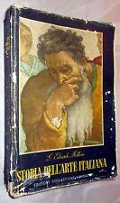 STORIA DELL'ARTE ITALIANA di E. Mottini vol. secondo ediz. Mondadori 1958 orig.