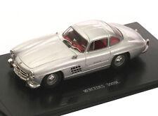 1:43 Altaya - Mercedes Benz 300 SL Gullwing 1954 W198 - silber
