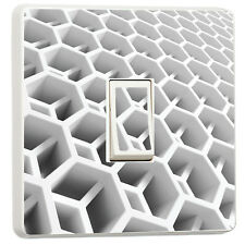 funky 3d cells abstract light switch photo sticker cover (22577869)