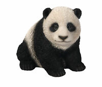 Panda Cub Baby - Lifelike Ornament Gift - Indoor or Outdoor - Zoo Pet Pals NEW