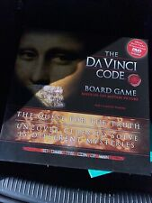 THE DA VINCI CODE OFFICIAL MOVIE NOVEL ADULT BOARD GAME PUZZLE MYSTERY NEW 2006