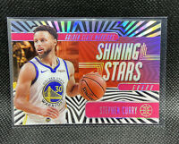 Stephen Curry 2019-20 Illusions Shining Stars Insert Pink #7 Golden State