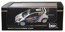 FORD FIESTA RS WRC #12 DELECOUR SAVIGNONI MONTE CARLO 2014 IXO RAM571 1/43 RALLY