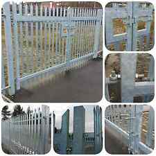 Palisade Fence Double Leaf Gate 1.8m High x 4m Security Gate - £495 +VAT New!!!!