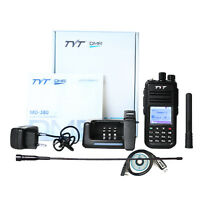 TYT Tytera MD-380 DMR Portable Two Way Walkie Talkie Digital Radio UHF400-480MHz