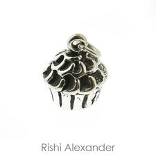 925 Sterling Silver Cupcake Charm American Made