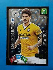 Panini Calciatori Adrenalyn 2020-21 2021 n.230B De Paul Udinese Platinum Plus