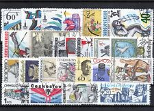Cehoslovacia / Ceskoslovensko  - sellos usados   lote 01