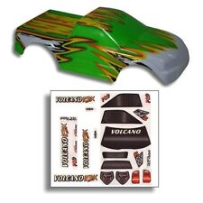 Redcat Racing 1/10 Truck Body Green and Yellow  - Volcano - Part 88009GY