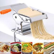 Strumento per spaghetti Pasta Maker Lasagne TAGLIATELLE MACCHINA a rulli in acciaio inox