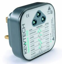 Kewtech Kewcheck103 Socket Tester Audible Tone & LED Indication