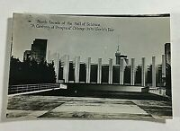 "VINTAGE 1933 Chicago Mini Photographs 3X2"" World Fair Souvenir Science Hall N."