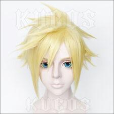 FF Final Fantasy 7 VII Cloud Strife Cosplay Perücke wig Gold Blond