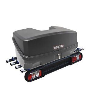Menabo Kupplungsträger Heckträger Race 4 Räder + Nekkar Transportbox 300Ltr