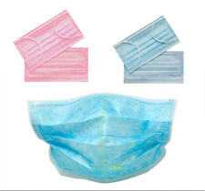 50* Disposable Medical Dustproof Surgical Face Mouth Masks Ear Loop Nurse Use