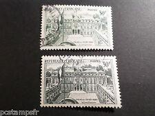 FRANCE 1959, TP 1192, variété COULEURS et IMPRESSION, ELYSEE oblitéré, VARIETY