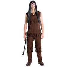 Männerkostüm Häuptling Indianer Apache Western Wilder Westen Fasnacht Karneval