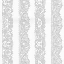 P&S INTERNATIONAL Catherine Lansfield Lacet Papier-Peint Rayé Orné Motif W-S