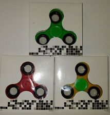 3x PACK TRI-SPINNER FIDGET TOY EDC HAND FINGER SPINNER ROTATION ADHD AUTISM