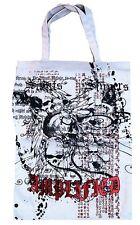 AMPLIFIED Totenkopf DARK SPIRIT SKULL BONES Canvas Einkaufs Tasche Shopper ViP