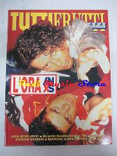 rivista TUTTIFRUTTI 98/1990 INXS Bon Jovi Black Sabbath Duran Duran  No cd