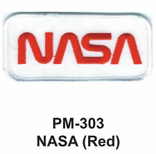 """3""""  NASA(RED) Embroidered Military Patch"""