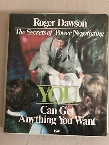 The Secrets of Power Negotiating-Roger Dawson-Nightingale Conant Audio Cassettes