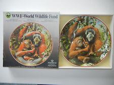 Heinrich WWF ASSIETTE Orang-Utan, Indonésie - avec Carton d'origine