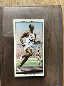 JESSE OWENS : Original Ogden Champions of 1936 Rookie RC