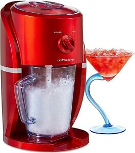 Ice Crusher Slush Machine Electric Ice Maker for Slushies Cocktails Andrew James