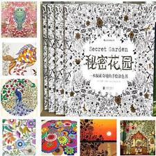 Newest Children Adult Secret Garden An Inky Treasure Hunt Coloring Painting Book