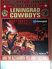 LENINGRAD COWBOYS - ALBUM  -  orig.Concert Poster -- Konzert Plakat  A1 - NEU
