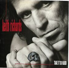 RICHARDS, Keith  (Take It So Hard)  Virgin 7-99297 = PICTURE SLEEVE ONLY!!!